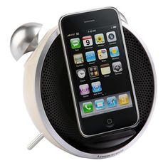 Tick Tock iPhone Alarm Clock at Firebox.com,  £44.99 #iphonealarmclock
