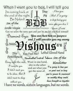 My Black Dagger tattoo from the Black Dagger Brotherhood