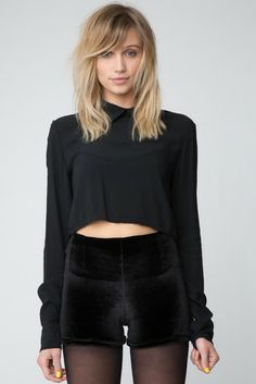 Brandy ♥ Melville | Bruna Shorts - Bottoms - Clothing