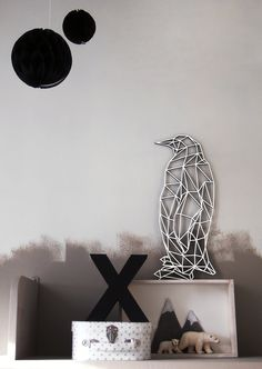GeoZoo Penguin | Ellen Coff designs and produces laser-cut art.