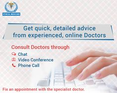 Get reliable medical advice and quick consultation from qualified industry veterans. Connect anytime!