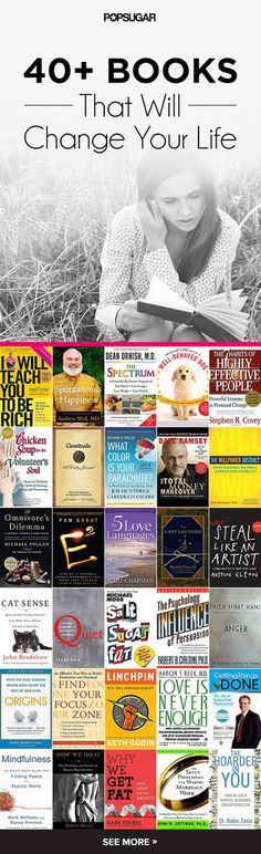 40+ Life-Changing Books to Read in the New Year.  I've only read two so far. Time to get on top of these!