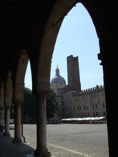 Piazza Sordello di Mantova, bene protetto dall'UNESCO dal 2008 Italy, Mantova, province of Mantova , LOMBARDY Italy