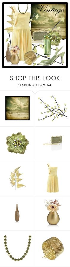 """Vintage Feeling"" by gnaseli ❤ liked on Polyvore featuring Tarina Tarantino, Leiber, Marks & Spencer, Peony, Mother and vintage"