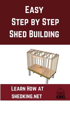 Whether you need an office shed, shed house, chicken coop, playhouse, she shed, garden shed or any type of shed, learn how to build one easily step by step. Online shed building guides and shed plans for every type of shed you need. Shed Building Plans, Shed Plans, 3d Building Models, Workshop Shed, Build Your Own Shed, She Sheds, Shed Homes, Outdoor Sheds, Shed Design