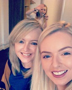 Lovely selfie of these two hunz! Meanwhile... I'm brushing my teeth like a dope in the background! #Photobomb #Sisters #Selfie #OddBall #DentalHygiene  by sheilzkelly
