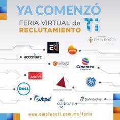 Más de 300 empleos de tecnología se ofrecen en la Feria virtual de reclutamiento - https://webadictos.com/2016/03/09/feria-virtual-de-reclutamiento-ti-2016/?utm_source=PN&utm_medium=Pinterest&utm_campaign=PN%2Bposts