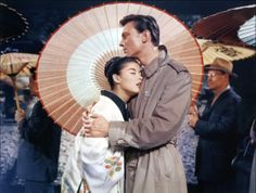 """Laurence Harvey and France Nuyen in """"A Girl Named Tamiko"""" (1962)"""