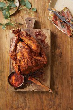 Thanksgiving Turkeys & More: Pepper Bacon Fried Turkey