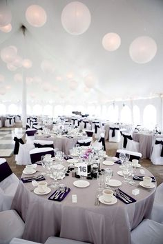 Grey black and white wedding palette. Simply elegant! www.aspartyrental.com