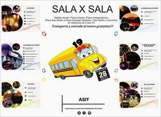 """Bienvenidxs todxs! Domingo 28 de mayo. Invitaci""""n para el 1"""" SALA X SALA de Tucumán. Un tour marat""""nico de teatro por 6 salas independientes, saliendo desde plazas Urquiza, Independencia, San Mart���n y Gramajo Gutierrez ( San Martin y Asunci""""n - parque Avellaneda) desde las 16:30 a las 20.30 hs con entrada y transporte de la L���nea 19 gratuitos! :D Buscá tu pase libre en cada una de las salas. La Gloriosa ( San Luis 836), La Soder���a ( Juan Posse 1141), El brbol de Galeano ( Virgen de la…"""