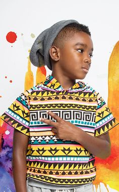 Yeah were having a tribal party! This Tribal fashion piece features a cap sleeved hooded pullover with an amazing tribal print detail. Pair this fun piece with the Tribal Cult or Classic Utility Harem
