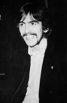 George Harrison and his gorgeous smile