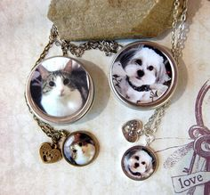 Girl's Best Friend Necklace Pet Necklace  in Matching Gift Tin