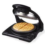 Best Waffle Makers: Belgian makers  Oater flip is ~$40