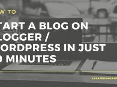 How To Start A Blog On Blogger / WordPress In 20 Minutes Make Money Online, How To Make Money, Fails, How To Start A Blog, Wordpress, Social Media, Writing, Make Mistakes, Social Networks