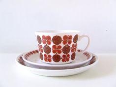 Turi-Design Morocco Tea Cup Set - Figgjo Flint Norway - Turi Gramstadt Oliver