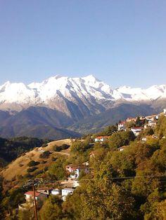 Fokida, Mavrolithari village Mount Rainier, Greece, Have Fun, Mountains, Awesome, Places, Nature, Travel, Life