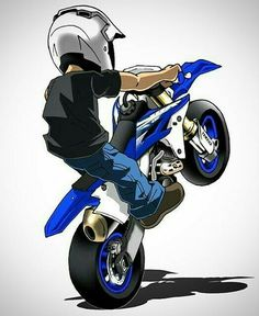 Badass Motorbike Art work by Scaronistefano - Moto Bike, Motorcycle Art, Bike Art, Motorcycle Touring, Motorcycle Quotes, Stunt Bike, Japon Illustration, Moto Cross, Dirtbikes