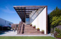 Painéis Solares fotovoltaicos: Casa Yin Yang / Brooks + Scarpa Architects