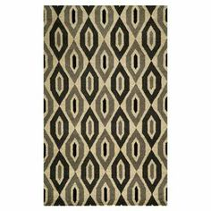 Stylishly anchor your living room or master suite with this lovely hand-tufted rug, showcasing a diamond trellis motif in grey.  Product: RugConstruction Material: WoolColor: GreyFeatures: Hand-tufted Note: Please be aware that actual colors may vary from those shown on your screen. Accent rugs may also not show the entire pattern that the corresponding area rugs have.Cleaning and Care: Spot clean. Professional cleaning recommended.