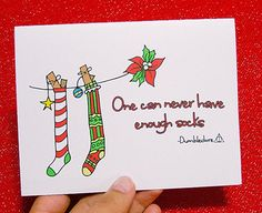 """And this one.   17 Holiday Cards Every """"Harry Potter"""" Fan Wants To Receive"""