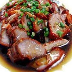 A braised dish made out of marinated pork. Pork asado is originally a Chinese recipe that has its own Filipino version. Meat Recipes, Asian Recipes, Mexican Food Recipes, Cooking Recipes, Pork Filet Recipes, Five Spice Recipes, Rabbit Recipes, Pork Recipes For Dinner, Healthy Eating Recipes