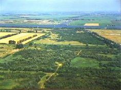 Luchtfoto geplande Afrikahaven bij Ruigoord - 1997