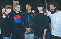 On the 8th of August 2017, MAJOR LAZER has released a 1 - minute video on twitter which features traveling and performing on different places. It has special credits for BTS' Rap Monster and Jungkook for meeting up with MAJOR LAZER on their performance in South Korea at 2017 Jisan Valley Rock Festival.