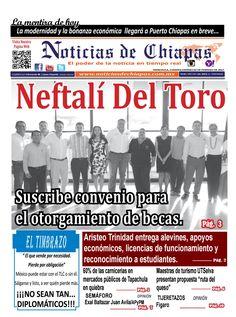 NOTICIAS DE CHIAPAS; EDICIÓN VIRTUAL; VIERNES  03  DE FEBRERO  DE 2017