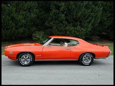 1969 GTO Judge  Sometimes you just need a big-ass hammer to drive a nail.