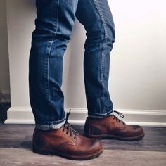 Red Wing x J.Crew Beckman Boots