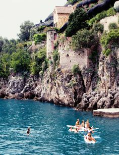 visit the hotel santa caterina on italy's amalfi coast