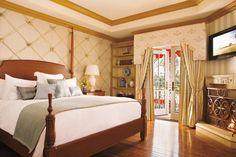 A relaxing bedroom at The Villas at The Grand Del Mar   Warren Sheets Design, Inc.   Interior Design