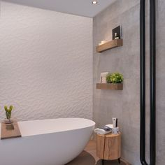 Bath room small bathtub bath remodel 32 Ideas for 2019 Modern Bathtub, Small Bathtub, Modern Bathroom, Bad Inspiration, Bathroom Inspiration, Villa Design, Bathroom Design Luxury, Large Bathrooms, Bathroom Toilets
