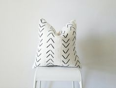 Editor's Pick Mudcloth Pillow Cover Authentic Vintage