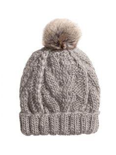 H&M Cable-Knit Hat, £7.99