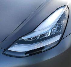 Matte grey Tesla Model 3