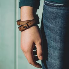 Now available in the UK, the Wrist Ruler is a useful and stylish leather wristband, beautifully etched with accurate measurements along its length, both in inches and cm.  It fastens simply with a metal stud.  This ingenious accessory means you will never be caught short if you need to check those