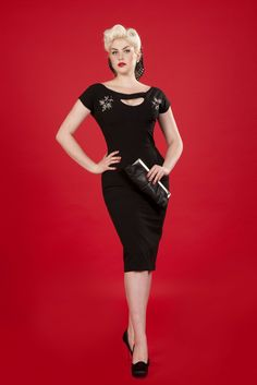 Bettie Page Clothing - new dress I got this weekend :D