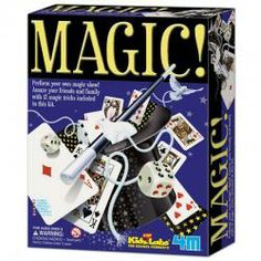 Kidz Labs - 12 Tricks magic Kit on Yellow Octopus Online Birthday Gifts, Birthday Gifts For Boys, Online Gifts, Gifts For Kids, Toys For Boys, Kids Toys, Yellow Octopus, Magic Sets, Christmas Gifts 2016