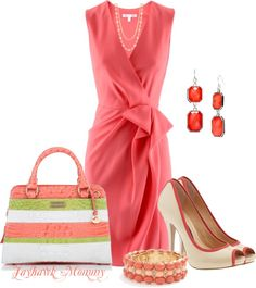 """""""Coral"""" by jayhawkmommy on Polyvore"""