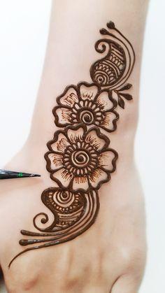 Very Simple Mehndi Designs, Mehndi Designs Front Hand, Modern Henna Designs, Latest Bridal Mehndi Designs, Mehndi Designs 2018, Mehndi Designs For Girls, Henna Art Designs, Mehndi Designs For Beginners, Mehndi Designs For Fingers