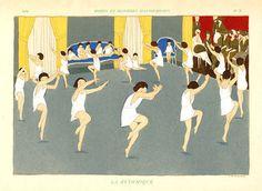 André Edouard Marty. La rythmique. Modes et manières d'aujourd'ui. 1919. Artophile.