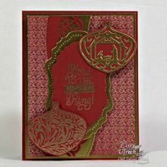 Our Daily Bread Designs Stamp set: Christmas Carols, Delightful Decorations, Our Daily Bread Designs Paper Collection: Christmas 2015, Our Daily Bread Designs Custom Dies: Leafy Edged Borders, Vintage Flourish Pattern, Delightful Decorations, Vintage Labels