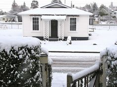 Central North Island/Ruapehu/Ohakune holiday home rental accommodation - The Railway Bach - Ohakune Holiday Home New Zealand Holidays, Holiday Accommodation, Collages, Homes, Island, Outdoor, Chalets, Outdoors, Houses
