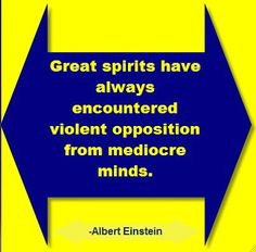 Do you want a great spirit.