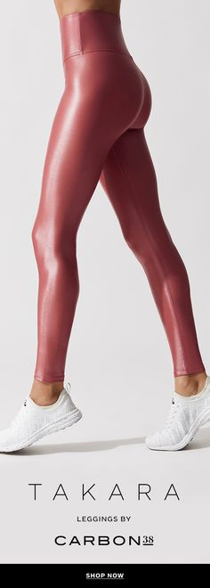 Our best-selling legging, the Takara Legging. A glossy liquid finish adds style and versatility for a sleek look that transitions from the studio to the street. Wear these liquid leggings for workout or a night out for a sleek and streamlined leather-like Workout Attire, Workout Wear, Stitch Fix, Sleek Look, Top Gear, Yoga, Athletic Wear, Fitness Fashion, Fitness Outfits