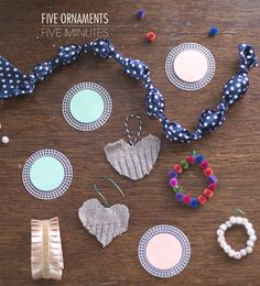 5 DIY Ornaments You Can Make In 5 Minutes