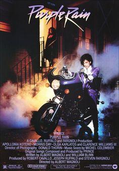 Prince Purple Rain Movie StandUp Display by kiss76 on Etsy, $12.99